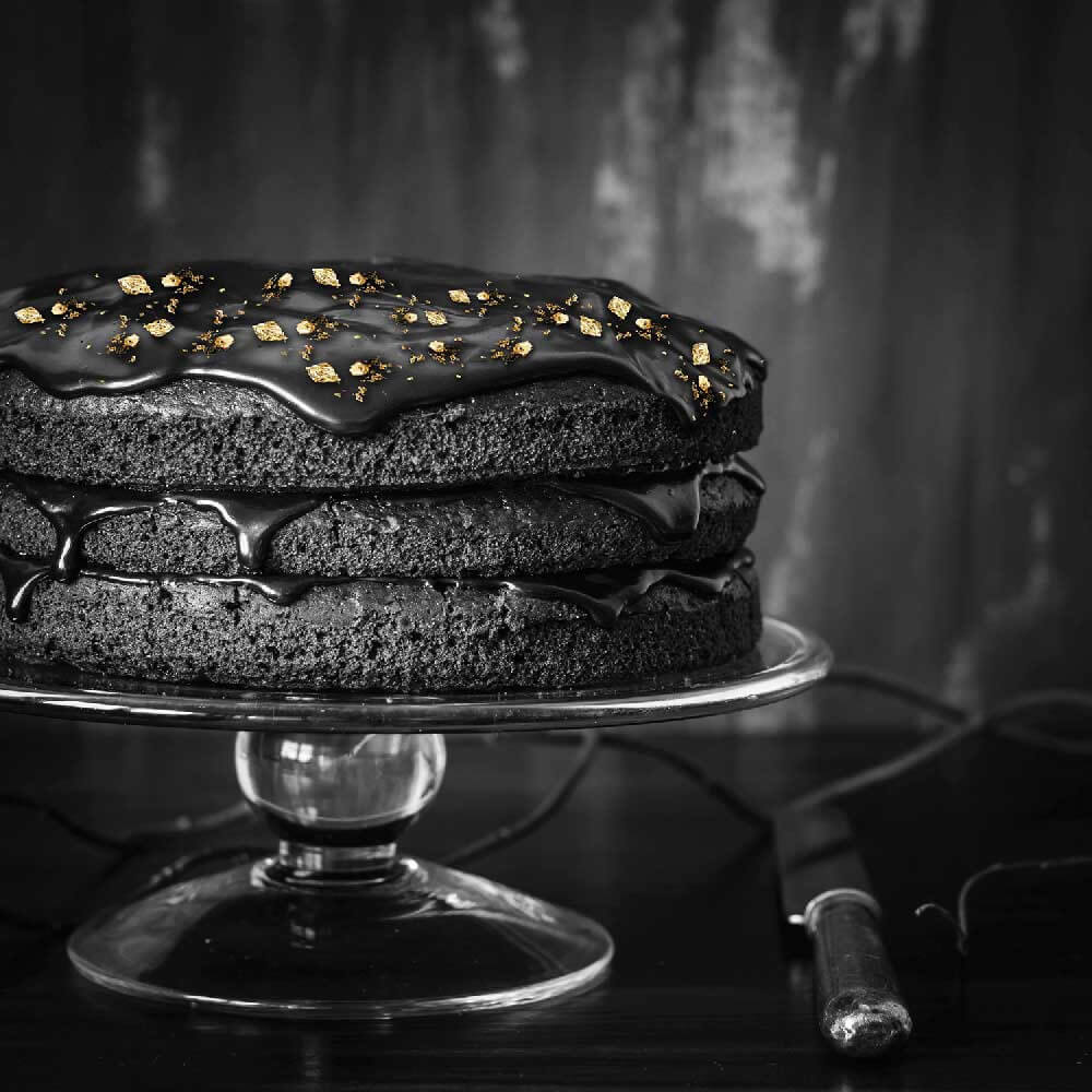 Oro alimentare edibile e dessert